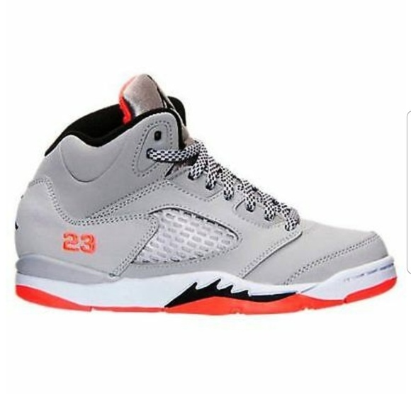 e37cce6c63d Air Jordan Retro 5 Preschool Boys Youth Sneakers